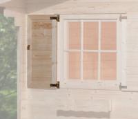Fensterladen 1-seitig für Fenster 91x91cm
