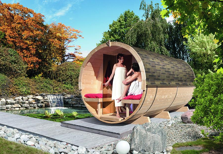 karibu fass sauna 4. Black Bedroom Furniture Sets. Home Design Ideas