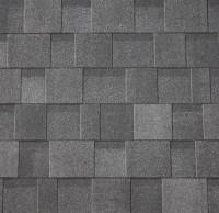 Premium Asymmetrische Dachschindeln schwarz-anthrazit 3m²