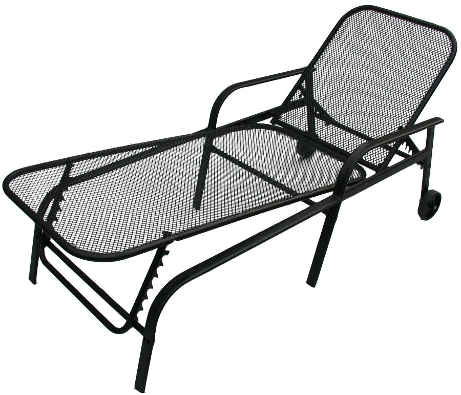 styna gartenliege paco verstellbar rollbar. Black Bedroom Furniture Sets. Home Design Ideas