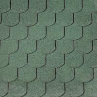 Dachschindeln Biberschwanz grün
