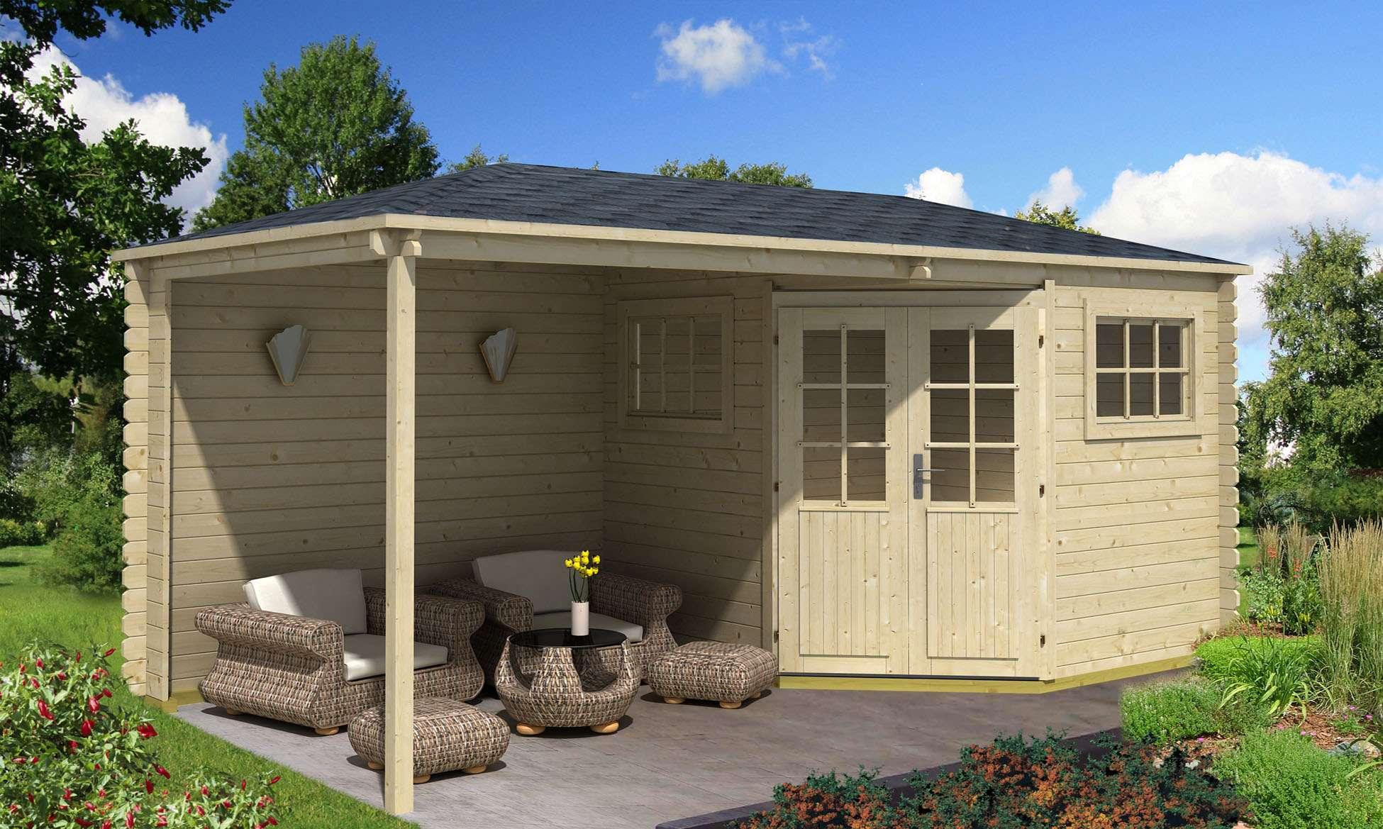 gartenhaus inklusive aufbau gt96 hitoiro. Black Bedroom Furniture Sets. Home Design Ideas