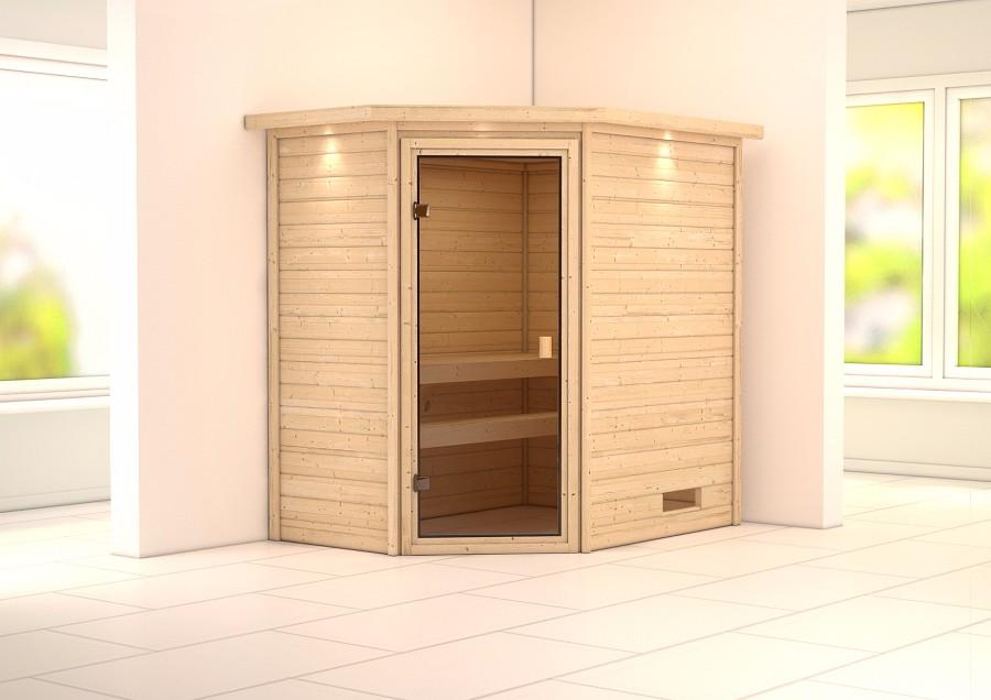karibu sauna innenkabine yassin. Black Bedroom Furniture Sets. Home Design Ideas