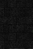 Karibu Rechteckschindeln schwarz