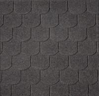 Premium Biberschwanzschindeln schwarz 3m²