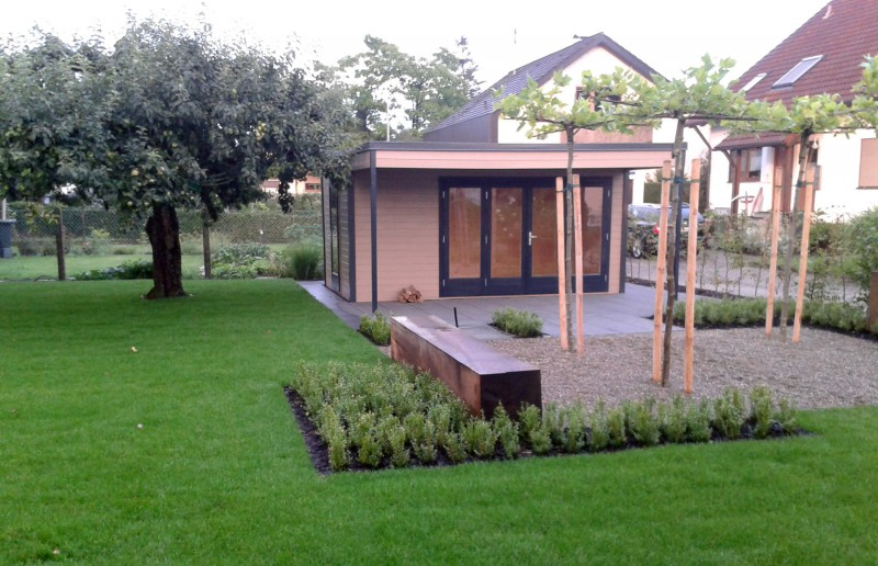 design gartenhaus cubus avant 44 iso. Black Bedroom Furniture Sets. Home Design Ideas