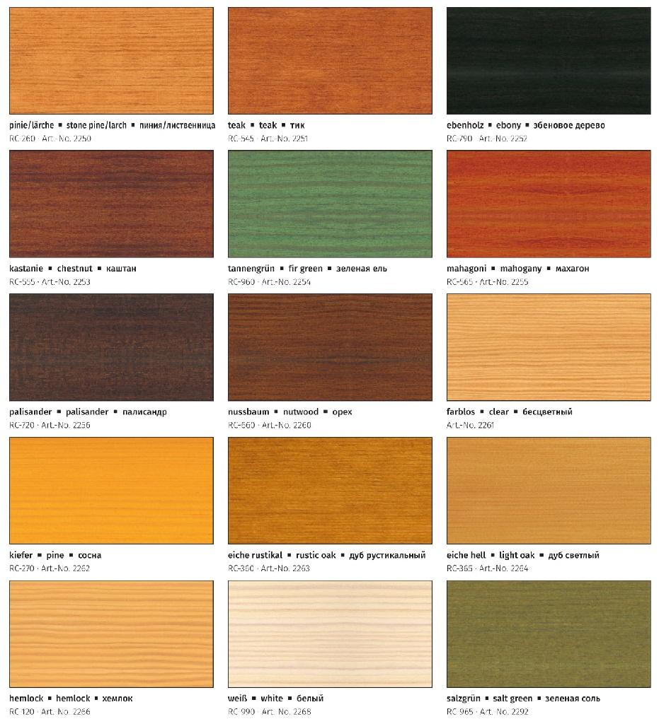 Farbtonkarte Remmers-AIDOL-HK-Lasur