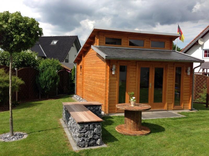 gartenhaus nordland 70 mit anbau. Black Bedroom Furniture Sets. Home Design Ideas