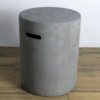 Abdeckung für Gasflaschen - Beton-Optik