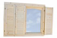 Fensterläden für Doppelfenster 70 mm