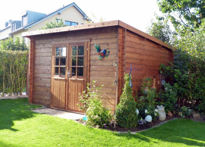 Gartenhaus Mit Pultdach Gunstig Kaufen Liefern Lassen
