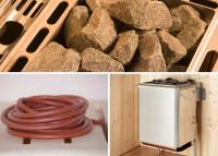 WEKA Sauna-Kompaktofen 9,0 kW - Ofenset 10