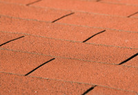 Dachschindeln rechteckig rot