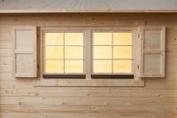 Klappläden für Einzelfenster