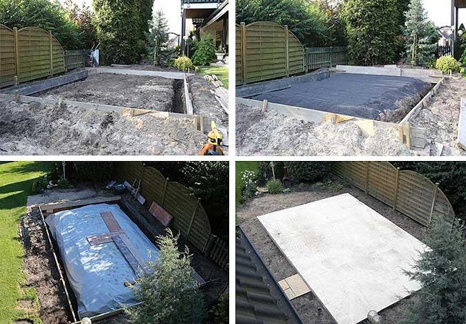 Extrem Das richtige Fundament für Ihr Gartenhaus QK17