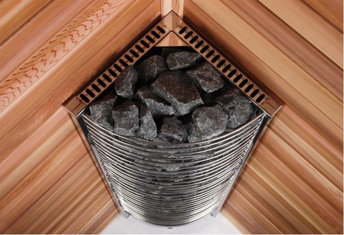 Sauna Heizung: Holzofen oder Elektro?