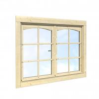 Palmako Doppelfenster ISO 44 mm 117 x 85 cm