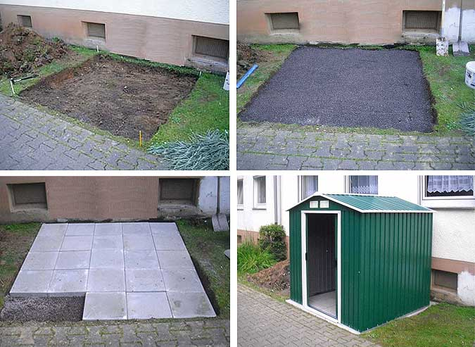Gartenhaus Fundament Kosten