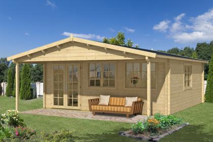 blockhaus kaufen holzhaus und blockbohlenhaus bis zu 50. Black Bedroom Furniture Sets. Home Design Ideas