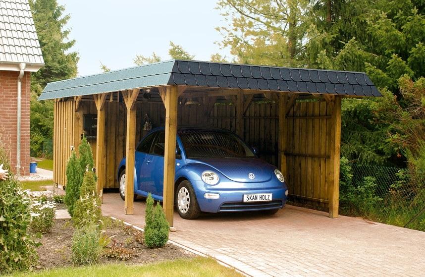 carport spreewald 345 x 893 cm. Black Bedroom Furniture Sets. Home Design Ideas