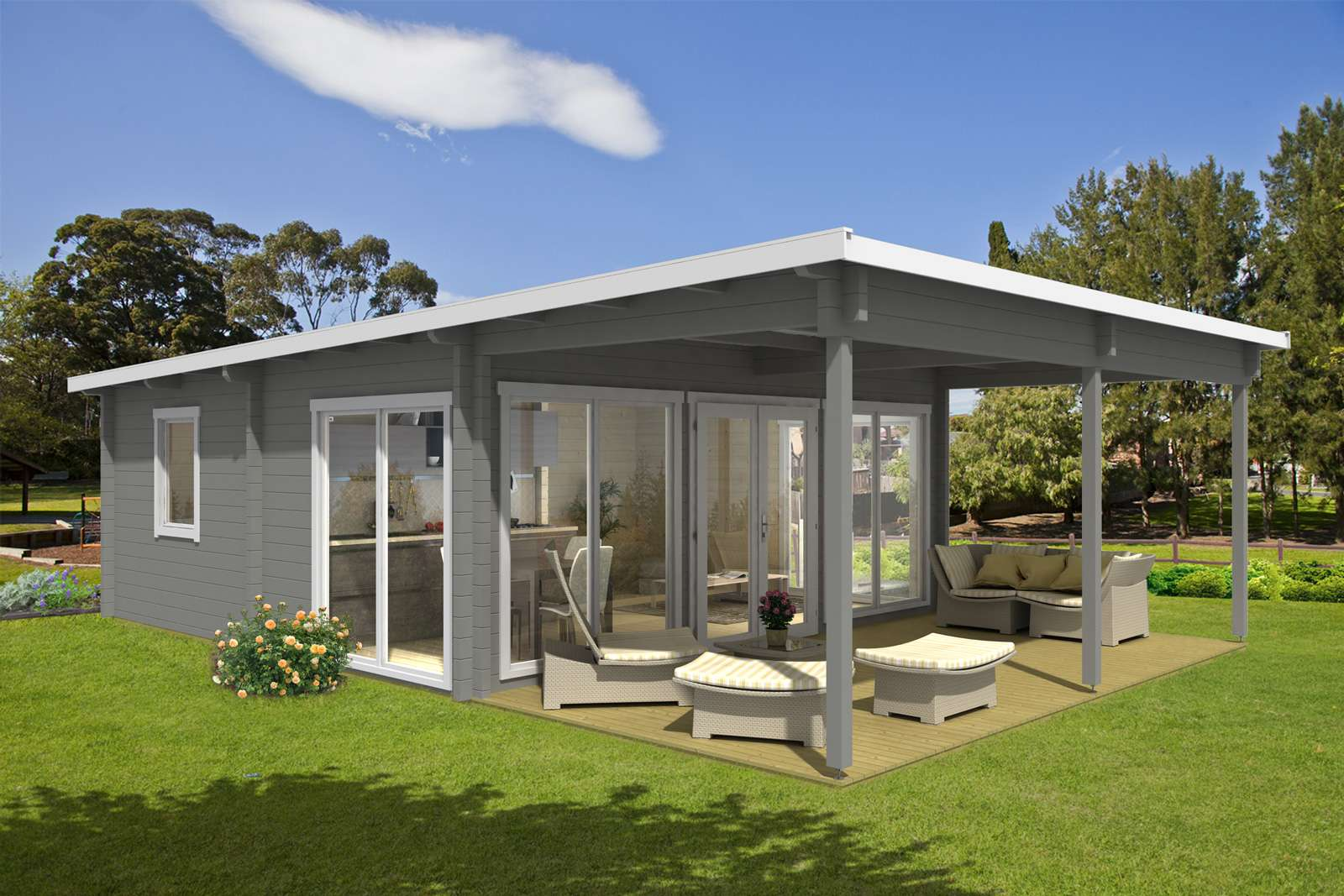 Garten Und Freizeithaus Carroz Modern 70 ISO