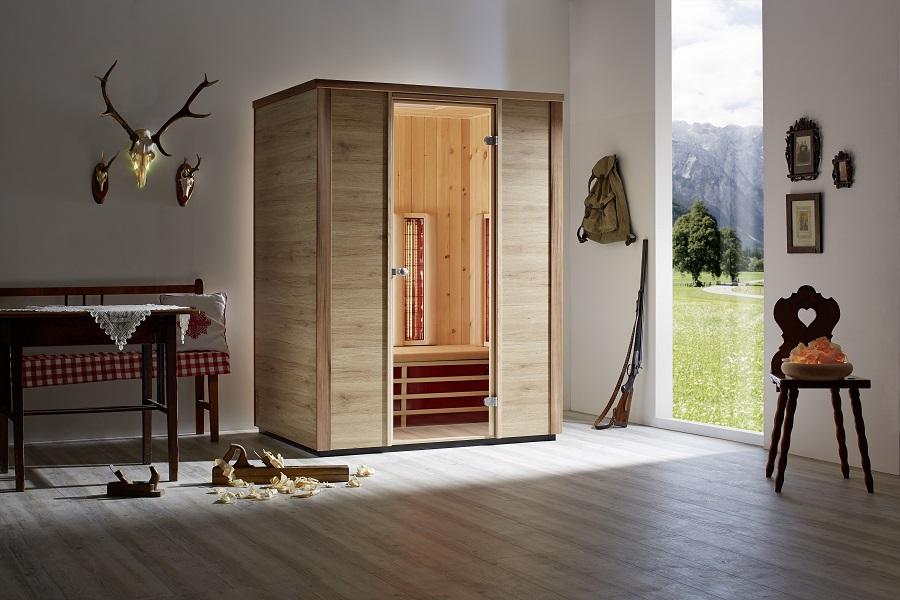 infraworld infrarotkabine triosol arve 150 390308. Black Bedroom Furniture Sets. Home Design Ideas