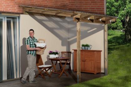 Gunstige Terrassenuberdachungen Aus Holz Bis Zu 50 Reduziert