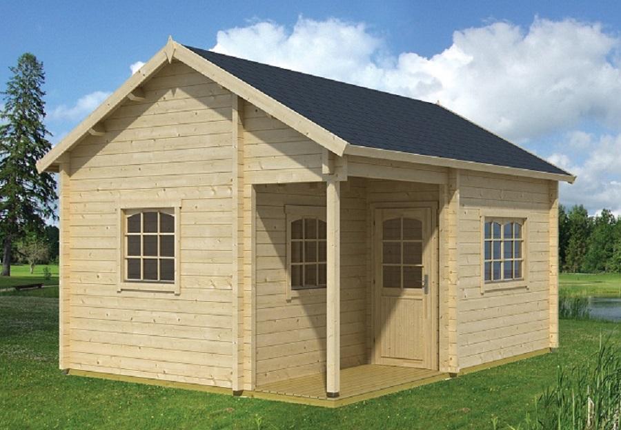lasita maja gartenhaus tahiti 70 iso 701302. Black Bedroom Furniture Sets. Home Design Ideas