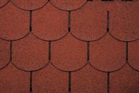 Dachschindeln Biberschwanz rot