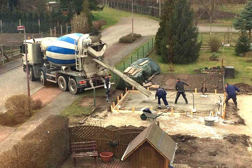 Favorit Garage Fundament selber bauen: So machen Sie's richtig! PO81