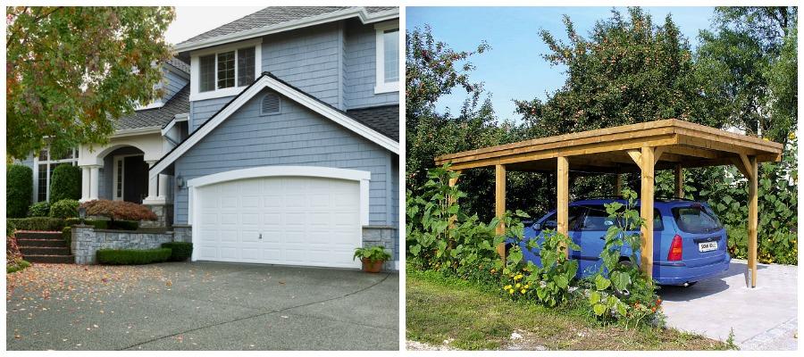 Garage oder Carport: Was ist besser für Sie geeignet?