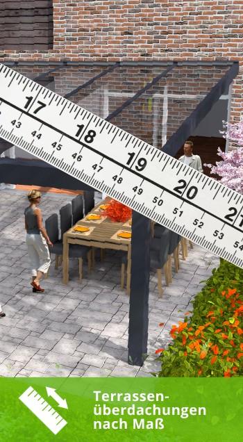 Terrassenüberdachungen nach Maß