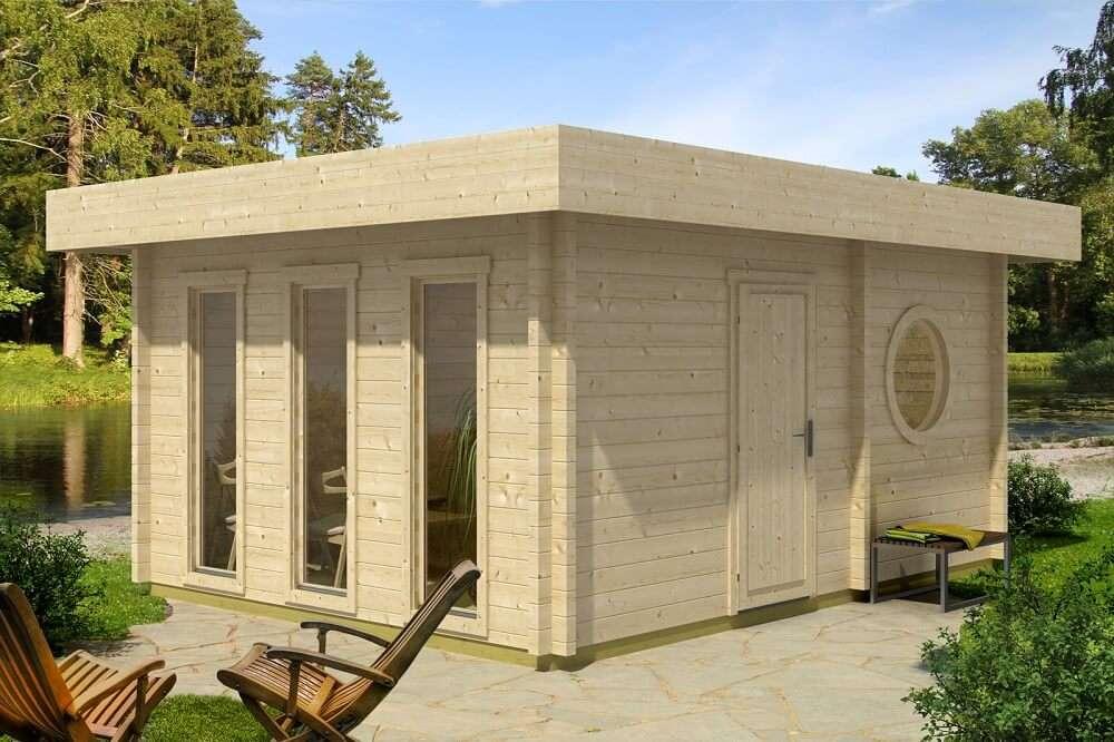 saunahaus kaufen interesting sauna fr den auenbereich. Black Bedroom Furniture Sets. Home Design Ideas
