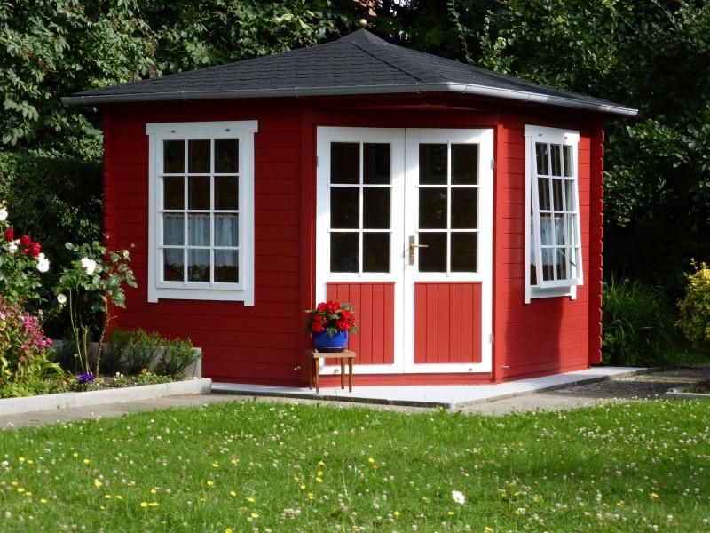 5 eck gartenhaus modell monica 28 5 eck gartenhaus modell monica 28. Black Bedroom Furniture Sets. Home Design Ideas