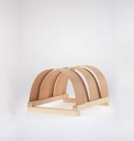 Holzblendschirm Classic