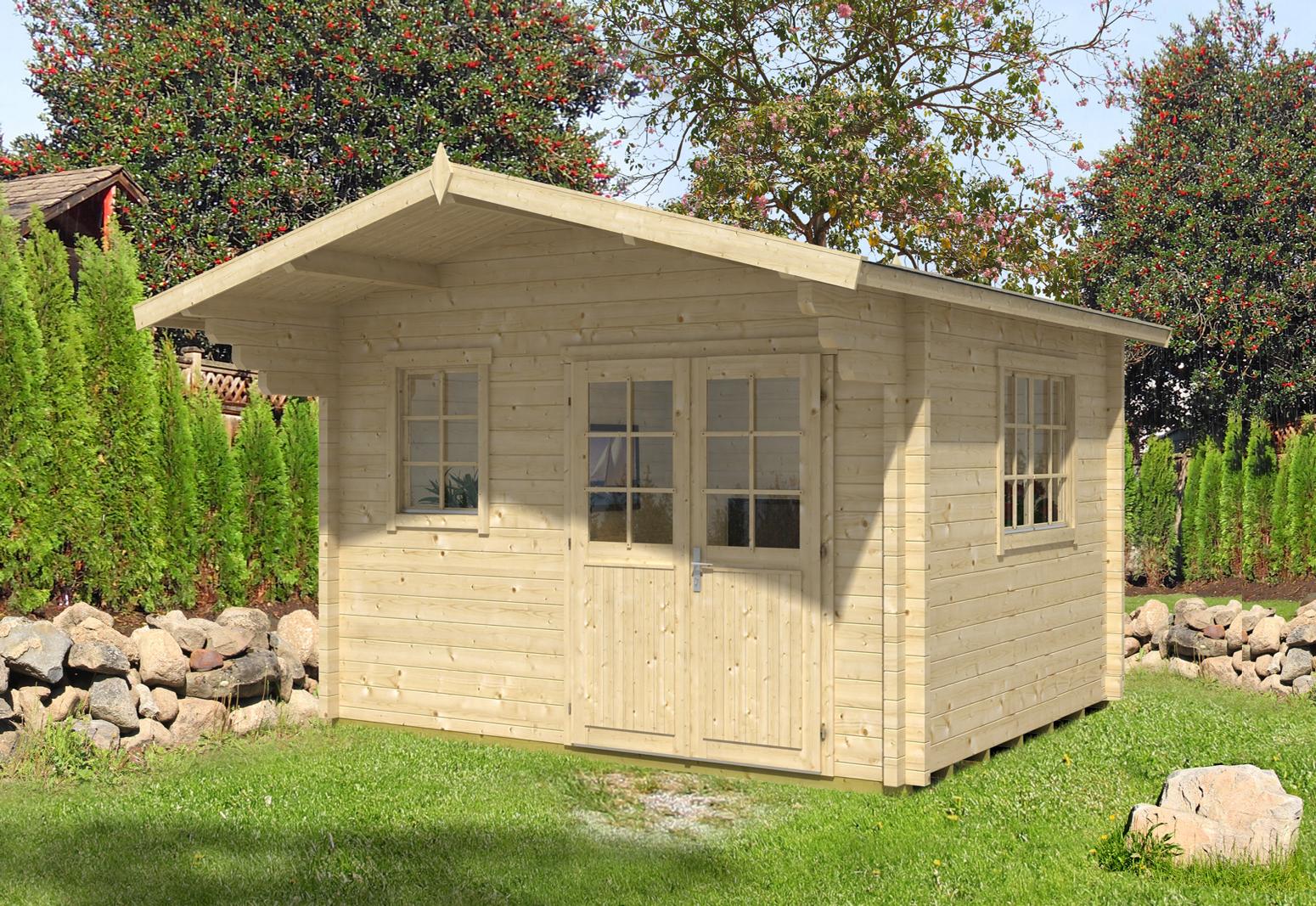gartenhaus rh n 70 d premium gartenhaus rh n 70 d premium. Black Bedroom Furniture Sets. Home Design Ideas