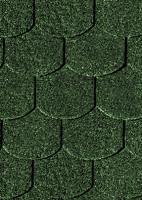 Karibu Biberschwanzschindeln dunkelgrün