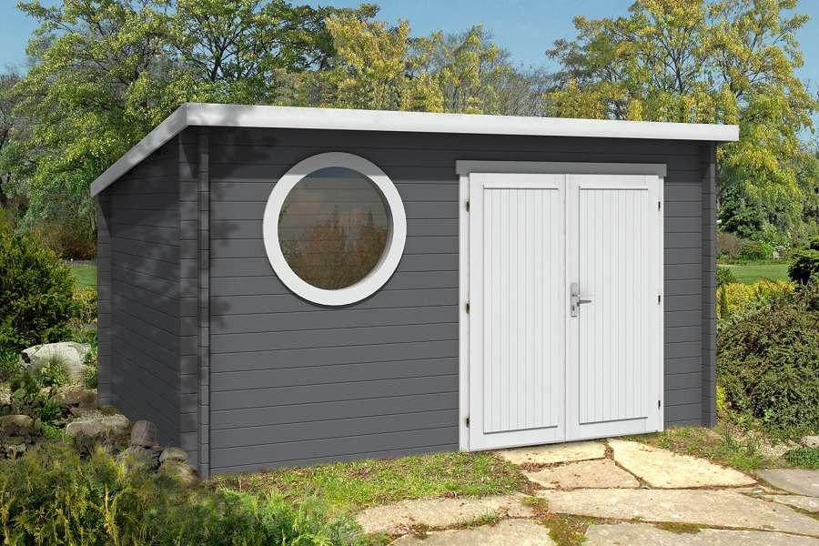 Gartenhaus Metall Pultdach VX74 – Hitoiro