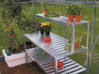 Aluminium-Tischaufsatz