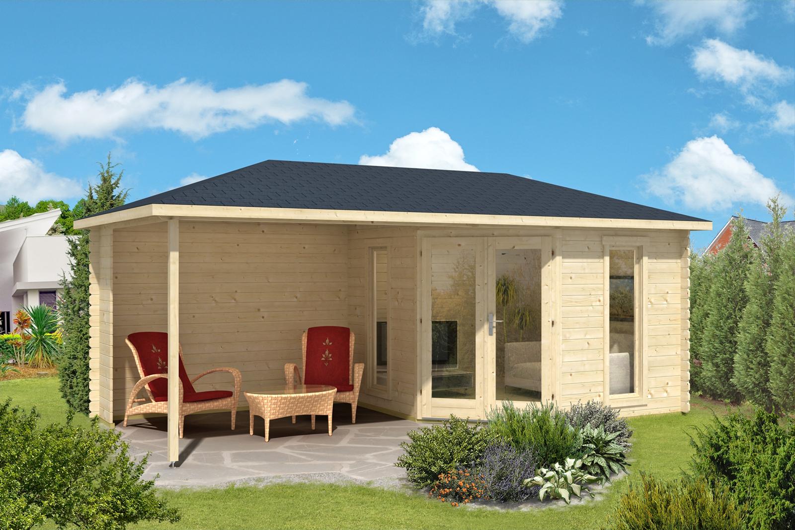 5 eck gartenhaus liwa 28. Black Bedroom Furniture Sets. Home Design Ideas