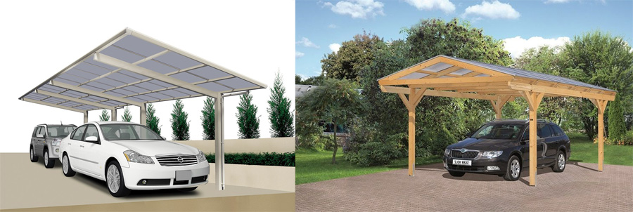 carport aufbauen tipps zum aufbau so geht 39 s. Black Bedroom Furniture Sets. Home Design Ideas