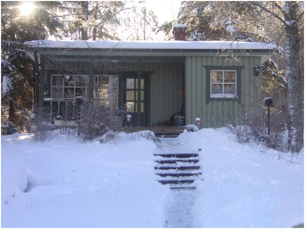 Gartenhaus im Winter: So machen Sie es winterfest