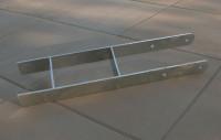 Karibu H-Pfostenanker 12 x 12 cm 4er Set