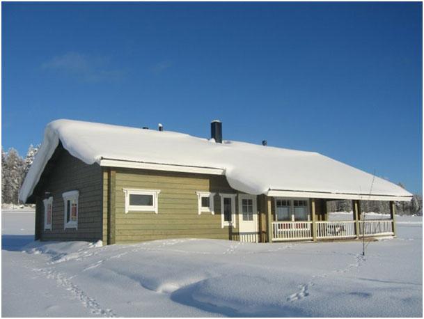 Gartenhaus winter