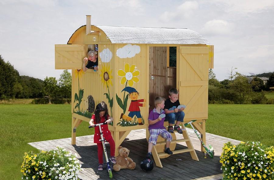Kinderspielhaus Garten