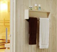 Regal und Handtuchhalter Design 800 Fichte
