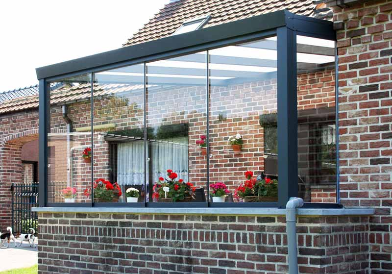 Wintergarten Gemauert alles ist möglich terrassenüberdachung in sonderanfertigung