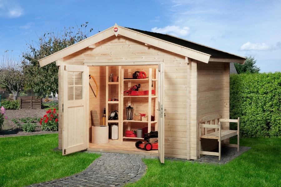 weka gartenhaus premium45 250 x250. Black Bedroom Furniture Sets. Home Design Ideas