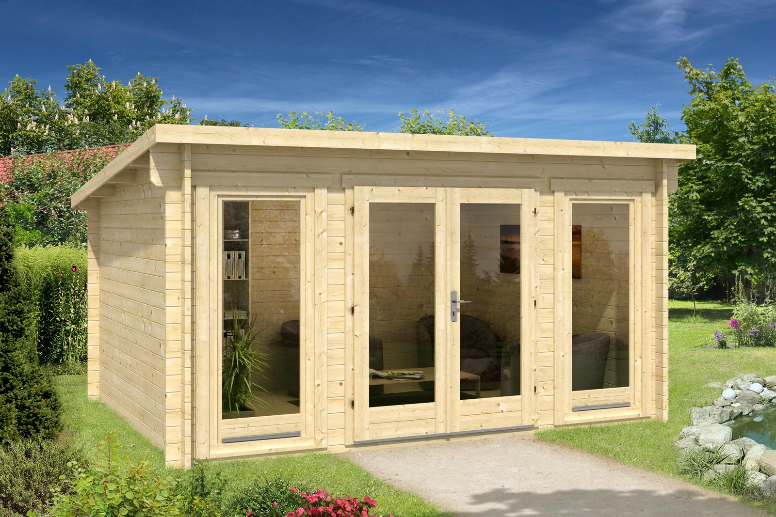 gartenhaus atrium 40 f. Black Bedroom Furniture Sets. Home Design Ideas