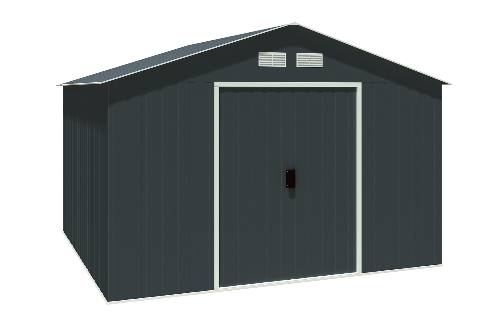 metallger tehaus colossus 10x10 anthrazit 7247. Black Bedroom Furniture Sets. Home Design Ideas